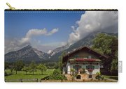 Austrian Cottage Carry-all Pouch by Debra and Dave Vanderlaan