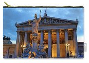 Austrian Parliament Building Carry-all Pouch by Mariola Bitner