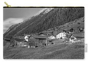 Austrian Village Monochrome Carry-all Pouch