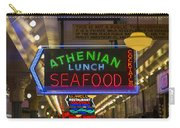 Authentic Lunch Seafood Carry-all Pouch