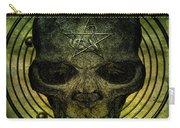 Authentic Skull Of The Vampire Callicantzaros Carry-all Pouch
