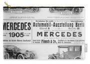 Automobile Ad, 1905 Carry-all Pouch