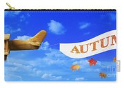 Autumn Advertising Banner Carry-all Pouch