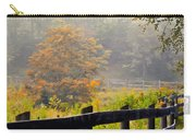 Autumn Along The Fence Carry-all Pouch