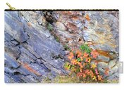 Autumn And Rocks Vertical Carry-all Pouch