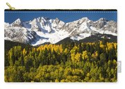 Autumn And Snow Covered Peaks North Carry-all Pouch