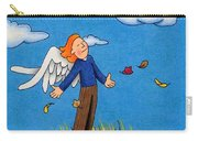 Autumn Angel Carry-all Pouch
