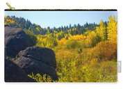 Autumn Aspen Trees Carry-all Pouch