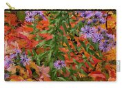 Autumn Asters Carry-all Pouch