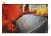 Autumn At Chicago Millennium Park Bp Bridge Mixed Media 03 Carry-all Pouch