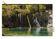 Autumn At Hanging Lake Waterfall Panorama - Glenwood Canyon Colorado Carry-all Pouch