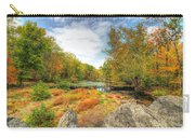 Autumn At The Creek - Green Lane - Pennsylvania - Usa Carry-all Pouch
