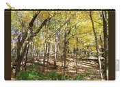 Autumn At Waterfall Glen Carry-all Pouch