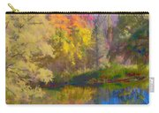 Autumn Beside The Pond Carry-all Pouch