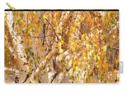 Autumn Birch Leaves Carry-all Pouch