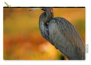 Autumn Blue Heron Carry-all Pouch