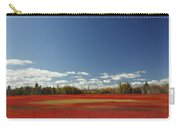 Autumn Blueberry Field Maine Carry-all Pouch by Scott Leslie