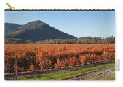 Autumn Blueberry Panorama Carry-all Pouch