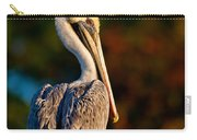 Autumn Brown Pelican Carry-all Pouch