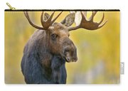 Autumn Bull Moose Carry-all Pouch