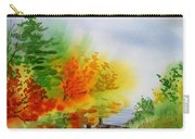 Autumn Burst Of Fall Impressionism Carry-all Pouch