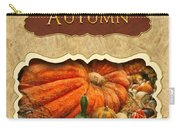 Autumn Button Carry-all Pouch by Mike Savad