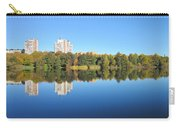 Autumn By The Triangle Lake In Stockholm Carry-all Pouch