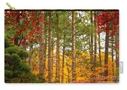 Autumn Canvas Carry-all Pouch by Carol Groenen