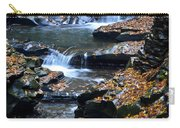 Autumn Cascade Carry-all Pouch by Frozen in Time Fine Art Photography