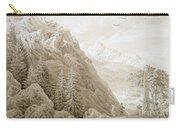 Autumn Carry-all Pouch by Caspar David Friedrich