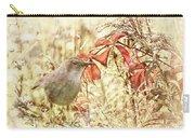 Autumn Catbird Carry-all Pouch