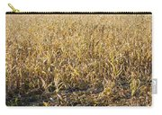 Autumn Cattle Silage Corn In Maine Carry-all Pouch by Keith Webber Jr