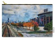 Autumn Chicago White Sox Us Cellular Field Mixed Media 03 Carry-all Pouch