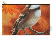 Autumn Chickadee Carry-all Pouch