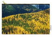 Autumn Color Larch Trees In Pine Tree Carry-all Pouch