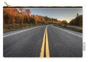 Autumn Colors And Road  Carry-all Pouch