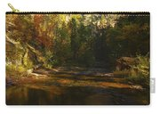 Autumn Colors By The Creek  Carry-all Pouch