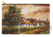 Autumn Cottages Carry-all Pouch