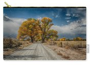 Autumn Country Road Carry-all Pouch