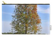 Autumn Cypress Tree Carry-all Pouch