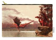 Autumn Dragons Carry-all Pouch