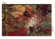 Autumn Dryad Collage Carry-all Pouch