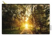 Autumn Fall Park Carry-all Pouch by Michal Bednarek