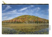 Serene Pond Vermont Autumn Panorama Carry-all Pouch