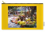 Autumn Farmers Market By Karen E. Francis Carry-all Pouch