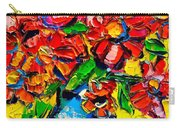 Autumn Flowers 7 Carry-all Pouch