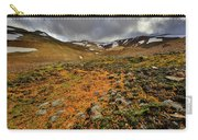 Autumn Foliage And Snowcapped Mountain Carry-all Pouch