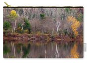Autumn Foliage River Reflection Carry-all Pouch