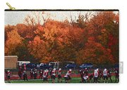 Autumn Football With Sponge Painting Effect Carry-all Pouch
