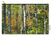 Autumn Forest Detail Carry-all Pouch
